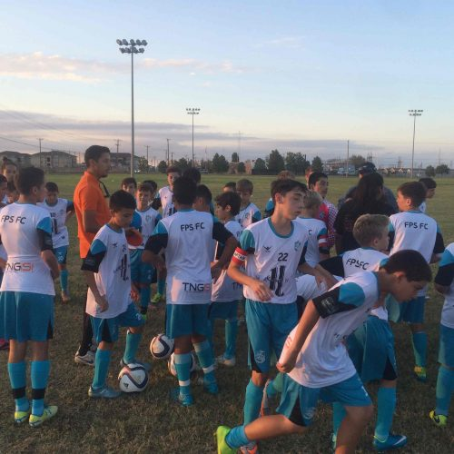 Texas Spanish Football Camp 2